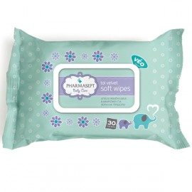 PHARMASEPT TOL VELVET BABY SOFT WIPES 30ΤΜΧ