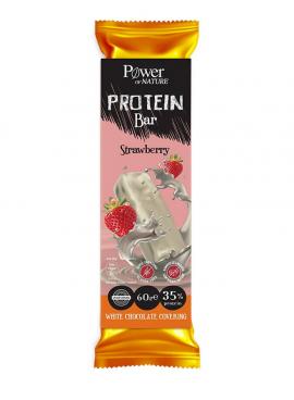 Power Health Protein Bar Strawberry White Chokolate Covering 60gr