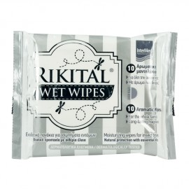 INTERMED RIKITAL WET WIPES PACK X10