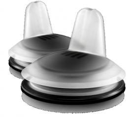 AVENT SCF252/01 Μαλακά Στόμια Εκροής Μαύρο 6m+ 2τμχ