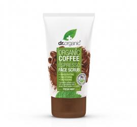 Dr.Organic Organic Coffee Espresso Mint Face Scrub 125ml