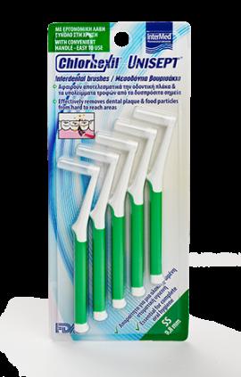 INTERMED Chlorhexil Unisept Interdental Brushes SS 0,8mm 5 τμχ