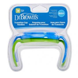 Dr. Browns Λαβές για κύπελλο με μαλακό στόμιο αγόρι (2 τεμ.)