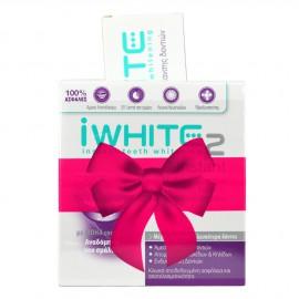 iWhite Instant 2 Επαγγελματικό Σύστημα Λεύκανσης Δοντιών, 10 Μασελάκια + iWhite οδοντόκρεμα λεύκανσης δοντιών 75ml