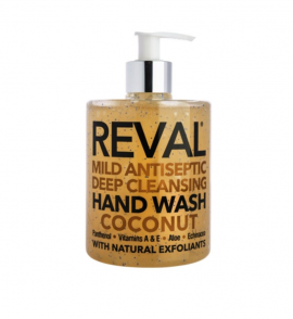 Intermed Reval Mild Antiseptic Deep Cleansing Hand Wash - Coconut, 500ml