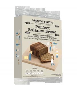 Power Health Healthy & Tasty Perfect Balance Bread 2 Φέτες Ψωμιού Χαμηλές σε Σάκχαρα & Υψηλές σε Πρωτεΐνες 96gr