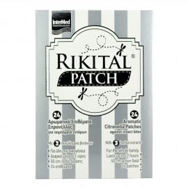 Intermed Rikital Patch 24 Αντικουνουπικά Επιθέματα με 3 Εκχυλίσματα Βοτάνων