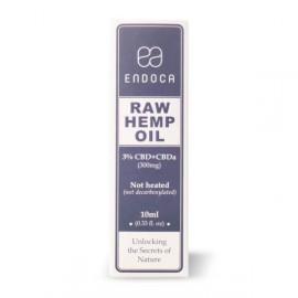 Endoca Raw Hemp oil 3% CBD+CBDa 10ml