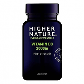 Higher Nature Vitamin D3 2000iu 60Caps