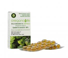 Oregano4Life Wild Oregano Oil 10% Αιθέριο Έλαιο Ρίγανης με Πληθώρα Ευεργετικών Ιδιοτήτων για Όλο τον Οργανισμό 30softgels