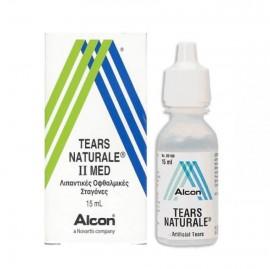 Alcon Tears Naturale II MED Οφθαλμικές Σταγόνες σε Διάλυμα 15ml