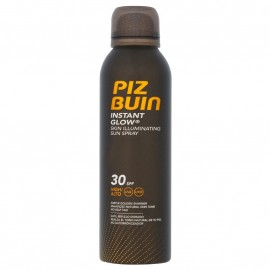 Piz Buin Instant Glow Skin Illuminating Sun Spray SPF30 Αντηλιακό Σπρέι Μέτριας Προστασίας 150ml