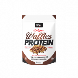 QNT Belgian Waffles Protein Milk Chocolate 480gr