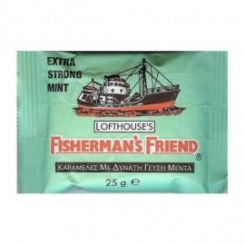 Fishermans Friend Καραμέλες με Γεύση Μέντας (Πράσινες) 25gr