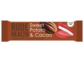 Am Health Rude Health Μπάρα με Γλυκοπατάτα & Κακάο Χωρίς Γλουτένη 35gr