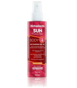 Histoplastin Sun Protection Body Sun Tannning Dry Oil SPF6 200ml