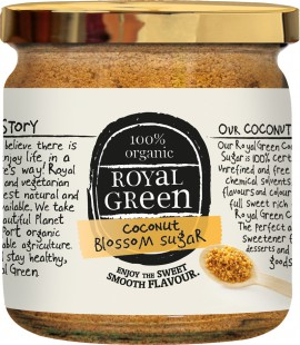 AM HEALTH ROYAL GREEN Οργανική ζάχαρη από άνθος καρύδας 200gr