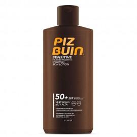 Piz Buin Sensitive Skin Lotion SPF50+ Αντηλιακό Υψηλής Προστασίας για τις Ευαίσθητες Επιδερμίδες 200ml