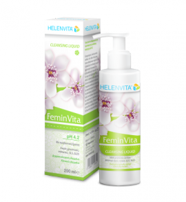 Helenvita FeminVita Cleansing Liquid PH4.2 200ml (Τιμή Γνωριμίας)