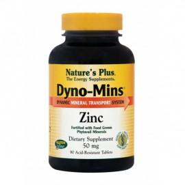 NATURES PLUS DYNO-MINS ZINC 50MG TABLETS 90