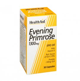 HEALTH AID EVENING PRIMROSE OIL 1300MG 30S