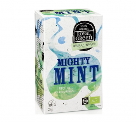 Am Health Royal Green Herbal Infusion Mighty Mint 16 φακελάκια