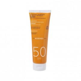Korres Bonus Pack Αντηλιακό Γαλάκτωμα Σώματος - Προσώπου SPF50 Γιαούρτι 250ml