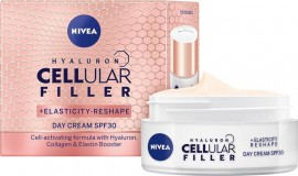 NIVEA Hyaluron Cellular Filler Ημέρας για Επαναφορά Ελαστικότητας SPF30 50ml