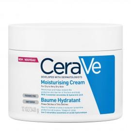 CeraVe Moisturising Cream Ενυδατική Κρέμα για Ξηρό - Πολύ Ξηρό Δέρμα 340gr