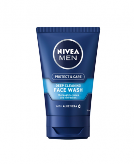 NIVEA MEN Protect & Care  Gel Καθαρισμού Προσώπου 100ml