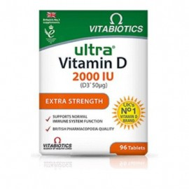 Vitabiotics Ultra Vitamin D 2000 IU D3 50mg 96tabs