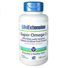Life Extension Super Omega 3 120caps