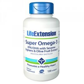 Life Extension Super Omega 3 120caps