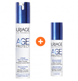 Uriage Age Protect Cream Multi-Action 40ml & ΔΩΡΟ Age Protect Multi Action Intensive Serum 10ml