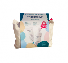 Synchroline Terproline Set Face Cream για Ενυδάτωση & Αντιρυτιδική Προστασία 50ml & Δώρο Terproline Gel Cleanser Απαλό Gel Καθαρισμού Προσώπου & Σώματος 200ml