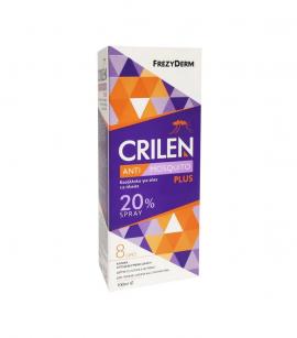 Frezyderm Crilen Anti-Mosquito Spray Plus Ενυδατικό Σπρέυ Κατά των Κουνουπιών με 20% IR3535 100ml