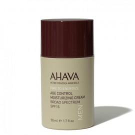 Ahava Mens Age Control Moisturizing Cream Broad Spectrum SPF15 50ml