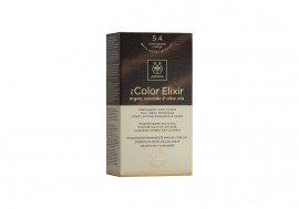 Apivita My Color Elixir kit Μόνιμη Βαφή Μαλλιών 5.4 ΚΑΣΤΑΝΟ ΑΝΟΙΧΤΟ ΧΑΛΚΙΝΟ