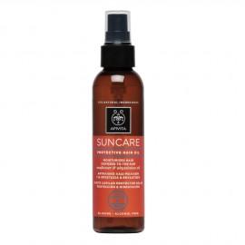 Apivita Suncare Protective Hair Oil με Λάδι Ηλίανθου & Αβυσσινίας 150ml