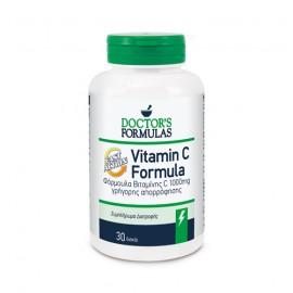 Doctors Formula Vitamin C 1000mg Fast Action Συμπλήρωμα Διατροφής Γρήγορης Απορρόφησης 30caps