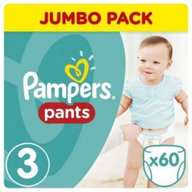 PAMPERS Pants Νο3 (6-11 kg) 60 Πάνες Βρακάκι