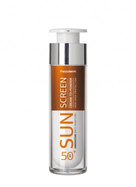 Frezyderm Sun Screen Vitamin D Cream to Powder SPF50+ 50ml Αντηλιακό Προσώπου με Αίσθηση Πούδρας