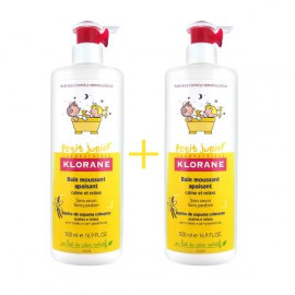 KLORANE PETIT JUNIOR BAIN MOUSSANT 500ml + 500ml
