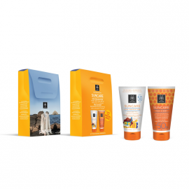 Apivita Suncare Promo Kids Protection Face & Body Milk Spf50 150ml + Face & Body Sun Protection Milk Spf30 150ml