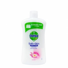 Dettol Soft on Skin Hard on Dirt Liquid Ανταλλακτικό Υγρό Κρεμοσάπουνο με χαμομήλι 750ml economy pack