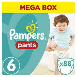 Pampers Pants No.6 (16+ Kg) Mega Box 88 Πάνες
