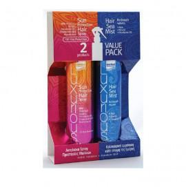 Intermed Promo Sun Care Hair Protection Spray 200ml + Intermed Hair Sea Mist 200ml