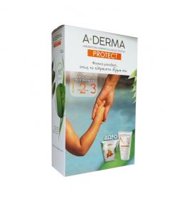 Aderma Set Protect Creme AD SPF50+ 150ml + Δώρο Polybag ProtectKids 1τμχ