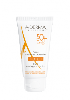 ADERMA PROTECT Fluide visage SPF50+ 40ml
