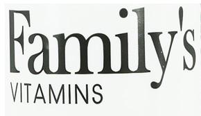 Familys VITAMINS